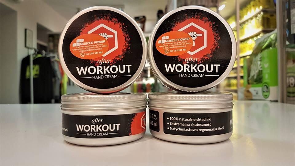 Krem do rąk - AFTER WORKOUT! Muscle Power Częstochowa - sklep z suplementami i zdrową żywnością