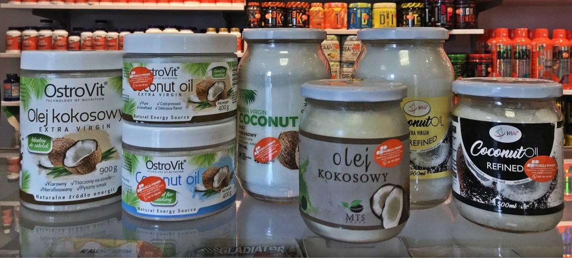 Olej kokowy- Vivio, Otrovit, 7 Nutrition, Grua MTS- Muscle Power w Częstochowie