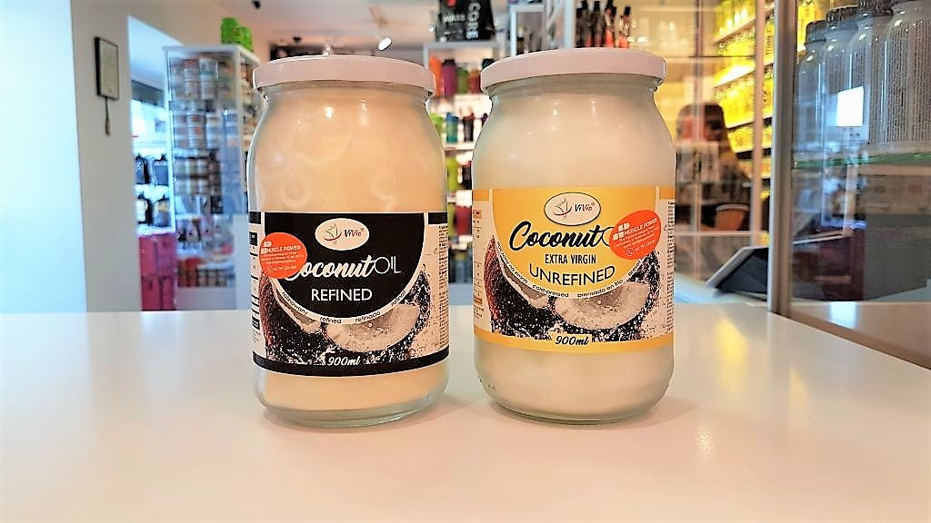 Olej Kokosowy Rafinowany/Nierafinowany - Vivio Muscle Power Częstochowa - sklep z suplementami i zdrową żywnością