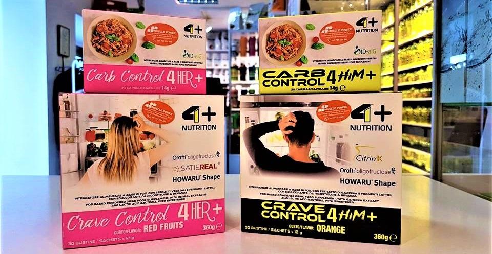 Zadbaj o swoją linię z włoskimi produktami marki 4+ Nutrition