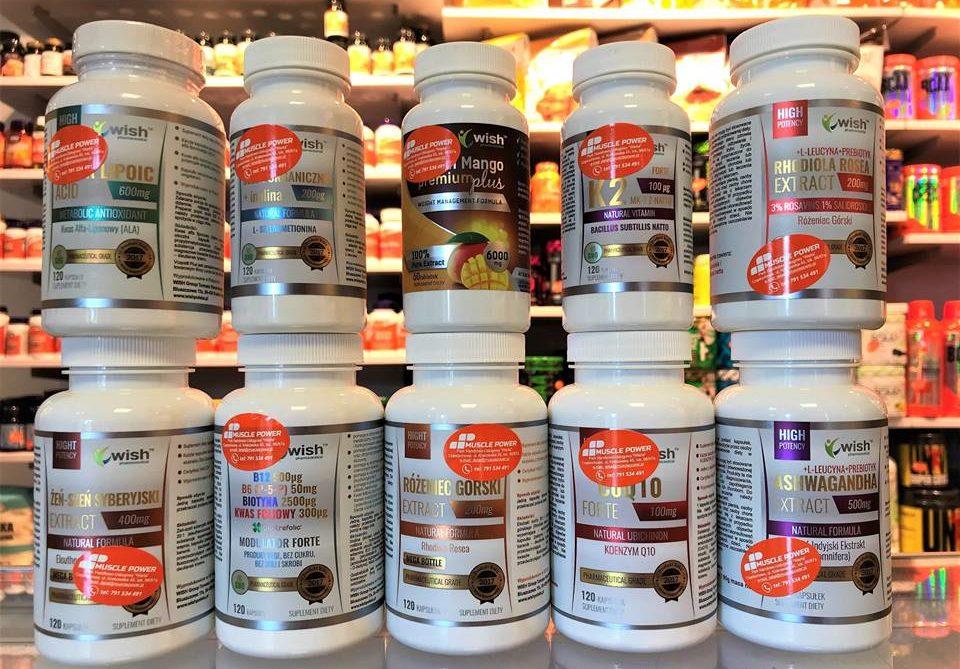 Nowe produkty od Wish Pharmaceutical