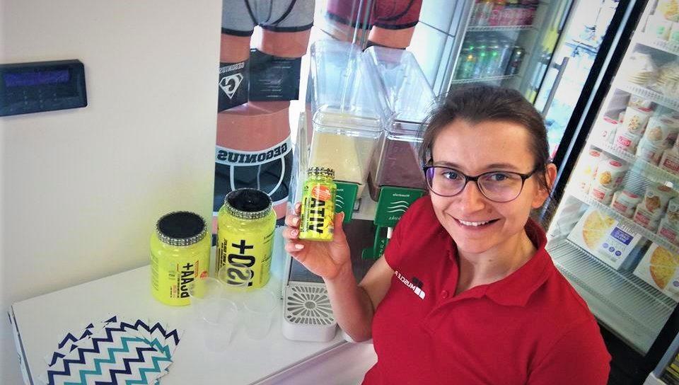 Degustacja produktów marki 4+ Nutrition w Muscle Power w Częstochowie