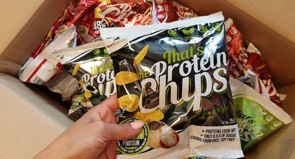 Wysokobiałkowe chipsy od Sport Definition w gratisie !