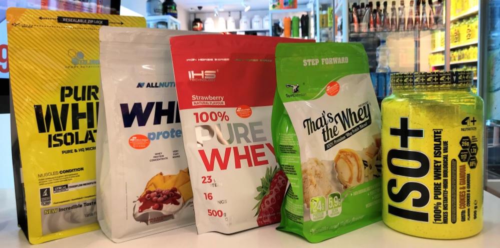 Największy wybór odżywek białkowych w Częstochowie- Muscle Power- Olimp, Sport Deinition, AllNutrition, 4+Nutrition, Iron Horse Series, Extrifit