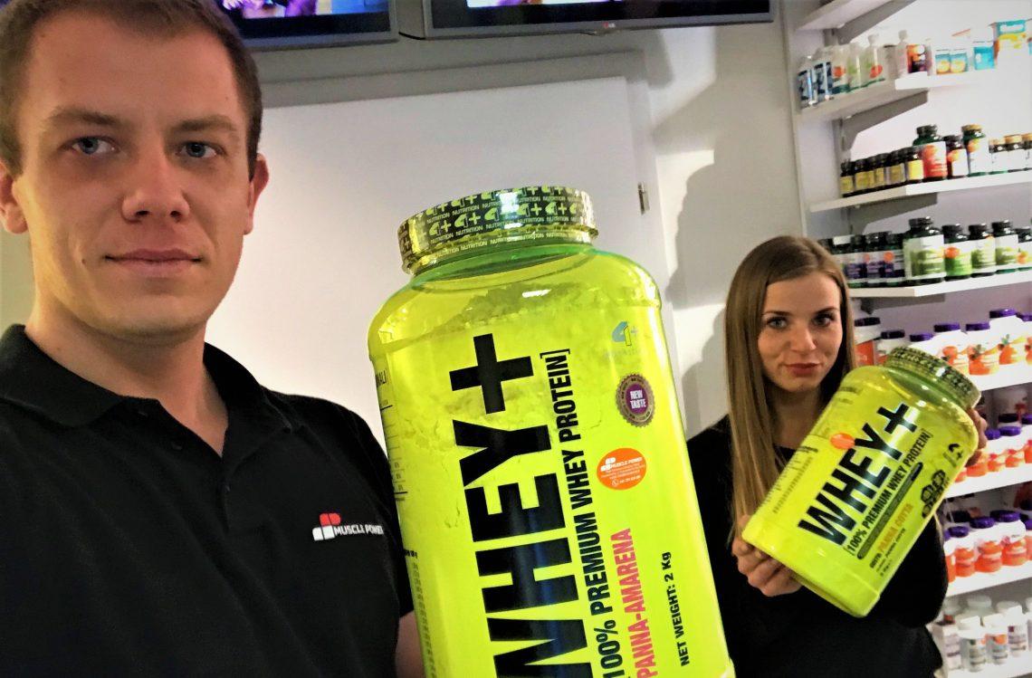 Whey + marki 4+ Nutrition w nowej , lepszej cenie !
