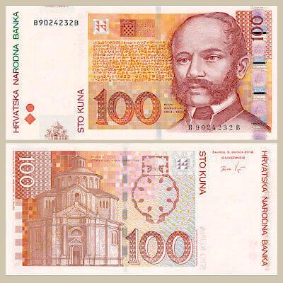 naknada za osobne potrebe - novčanica od sto kuna -istaknuta slika