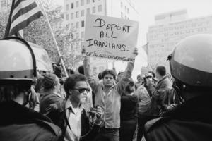 Protest przeciwko obywatelom Iranu z 1979 r.