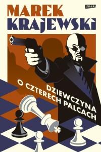 """Okładka książki """"Dziewczyna o czterech palcach"""", której autorem jest Marek Krajewski"""