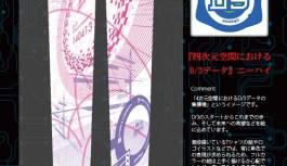 9/22フェチフェス08より発売開始【cheese】『四次元空間における D/3データ』ニーハイ 白