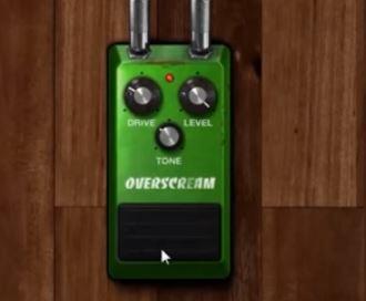 Amplitube 4のTS系オーバードライブレビュー