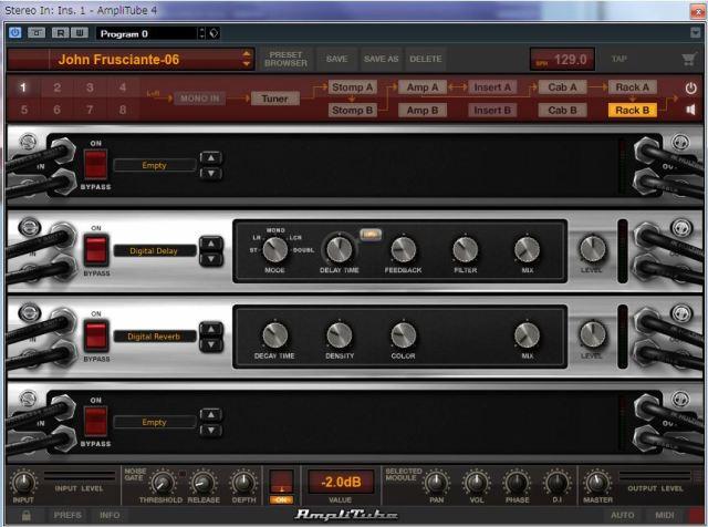 IK Multimedia Amplitube 4 John-rackB
