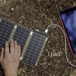 モバイルバッテリーの決定版!?ソーラーで大容量を超えるSolarPaper