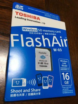 「Flash Air」を買った。