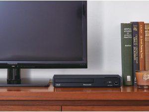 Blu-rayプレイヤーのサイズがわかる画像