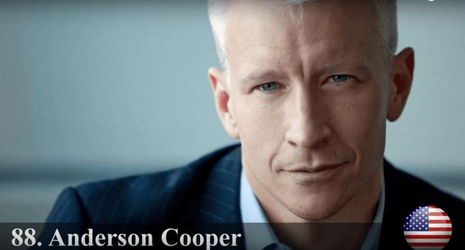 アンダーソン・クーパー 世界最もハンサムな顔100人