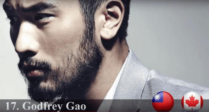 ゴッドフリー・ガオ 2015年世界で最もハンサムな顔100人