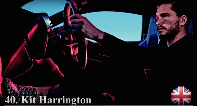 キット・ハリントン 世界で最もハンサムな顔100人
