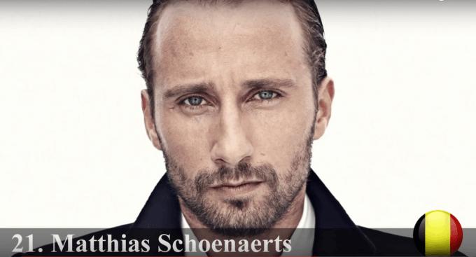 マティアス・スーナールツ 世界で最もハンサムな顔100人