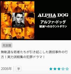 映画アルファ・ドッグ 破滅へのカウントダウンの見どころと画像