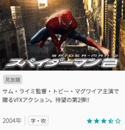 映画スパイダーマンの見どころと画像