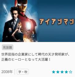 アイアンマンの見どころと画像