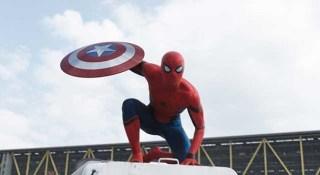 新スパイダーマンの画像