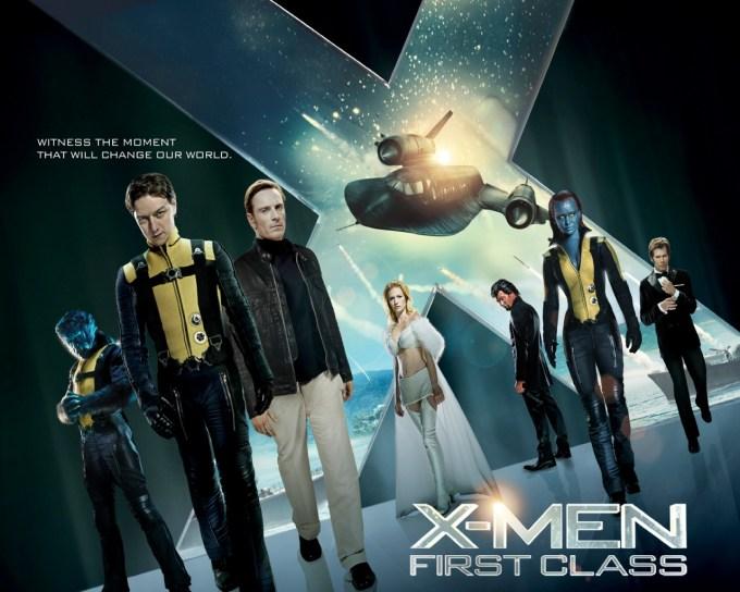 X-MEN映画シリーズ5作目ファースト・ジェネレーションのキャストと画像