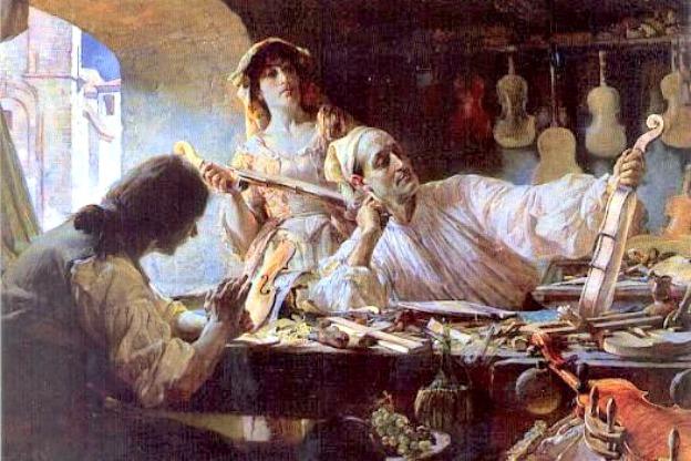 5億円のバイオリン、ストラディヴァリウスの画像
