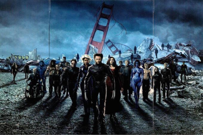 X-MENシリーズの全キャスト一覧