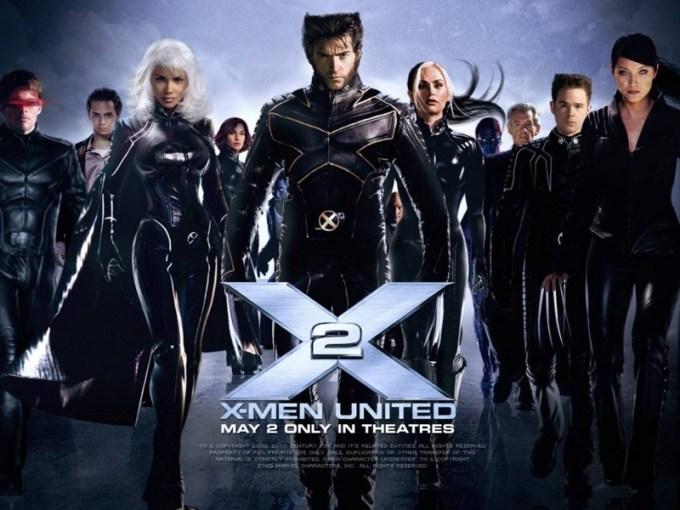 X-MEN映画シリーズ2作目X-MEN2(X2)のキャストと画像