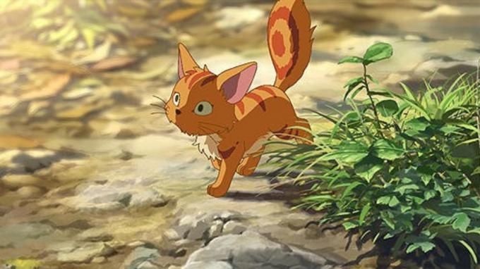 新海誠の「星を追う子ども」の猫ミミ