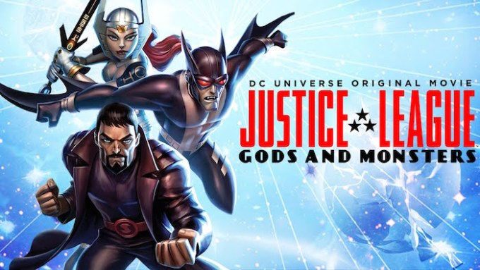 DCコミックスの人気アニメジャスティス・リーグ:神々とモンスターの画像