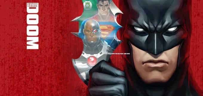 DCコミックスの人気アニメ作品ジャスティス・リーグ:ドゥームの画像