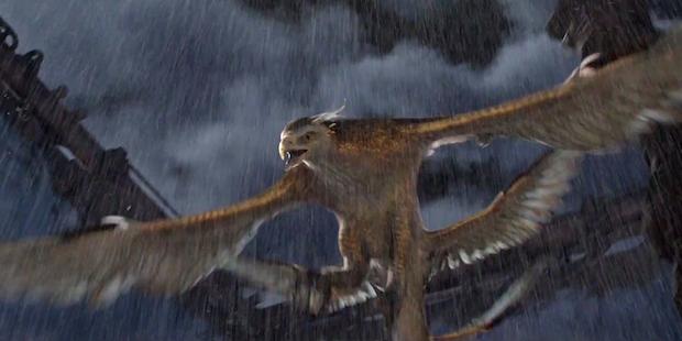 映画ファンタスティックビーストの登場する魔法生物サンダーバードの画像