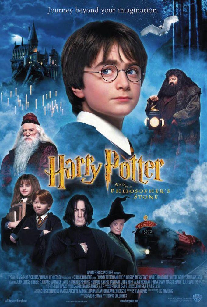 第1作目『ハリー・ポッターと賢者の石』の登場人物と画像