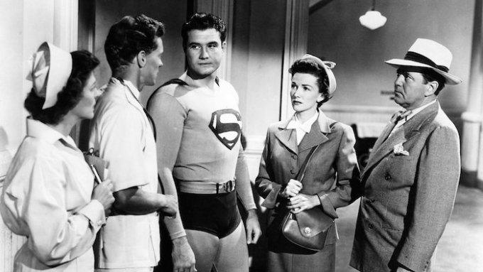 2代目スーパーマン映画ジョージ・リーヴスの画像