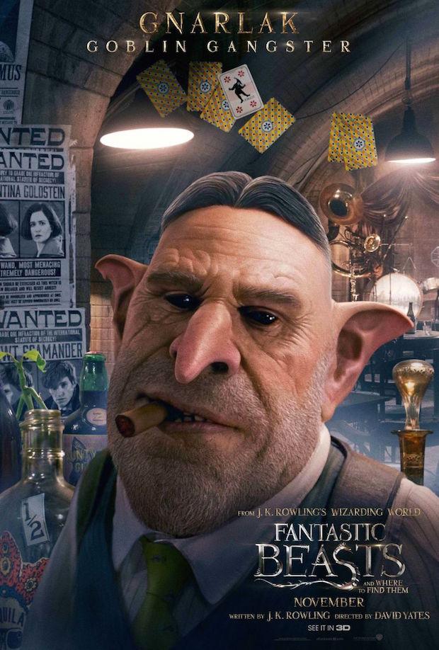 映画ファンタスティックビーストの登場人物ナーラックの画像