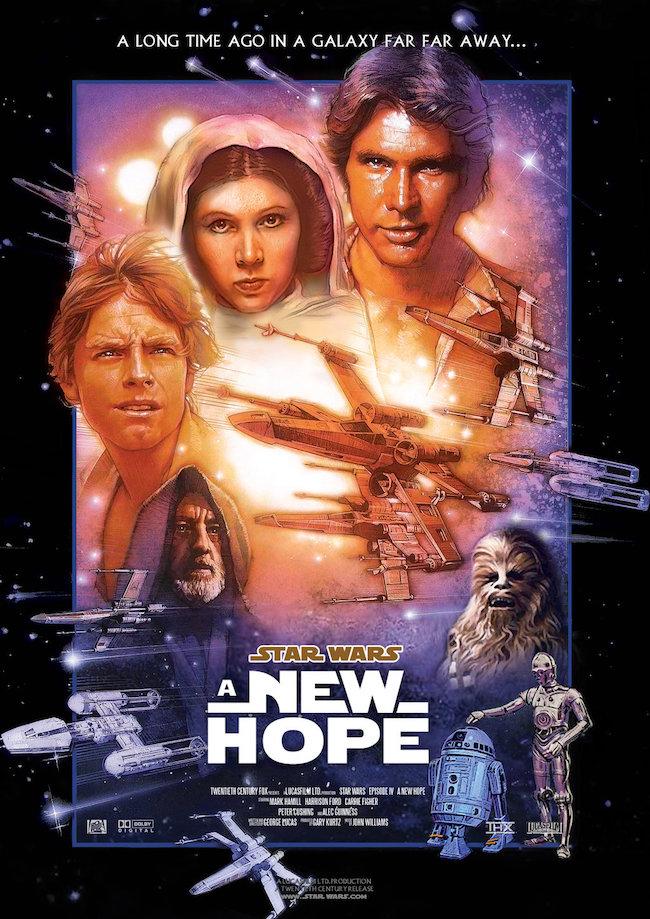映画第1作目『スター・ウォーズ エピソード4/新たなる希望』の登場人物と画像