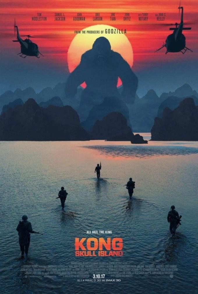 2017年公開予定の映画『キングコング: 髑髏島の巨神』の画像