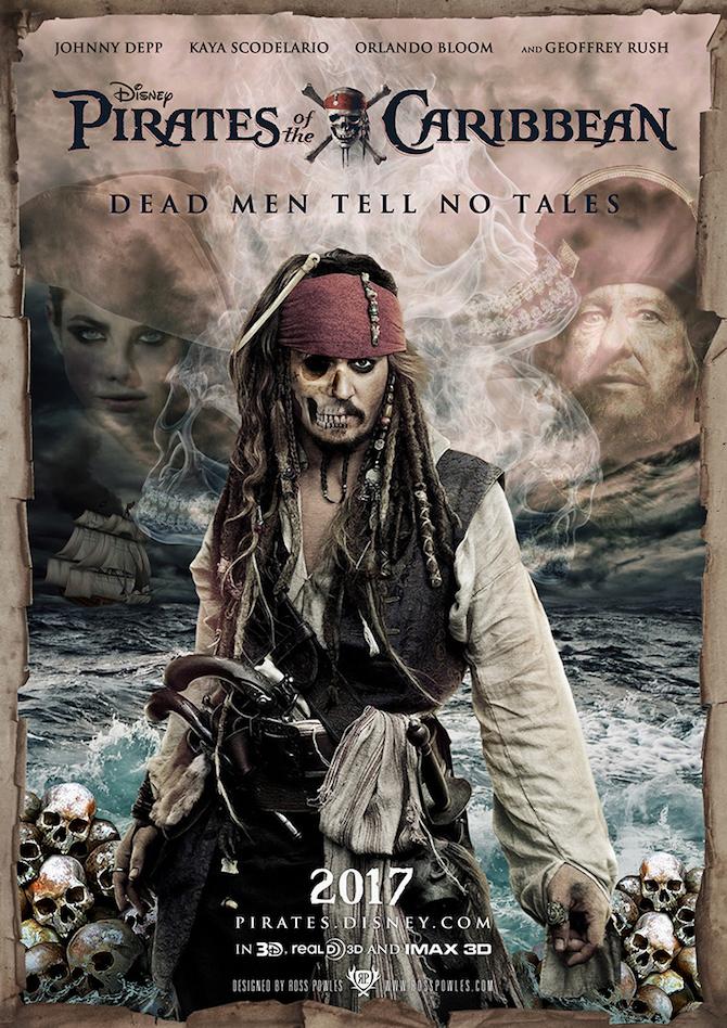 2017年公開予定の映画『パイレーツ・オブ・カリビアン5/最後の海賊』の画像