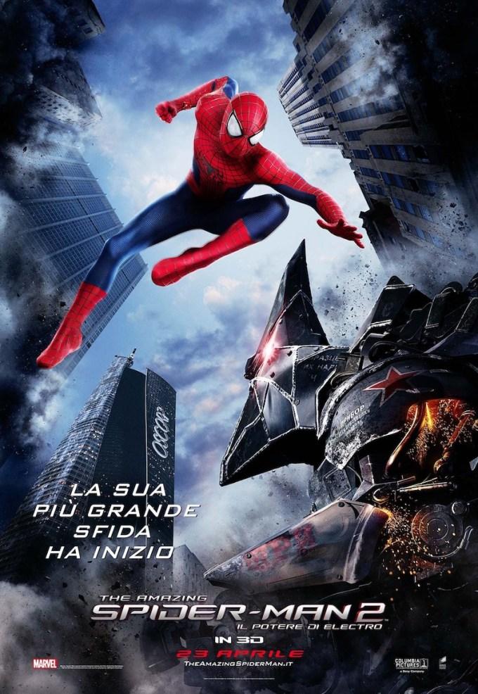 映画アメイジング・スパイダーマン2(2014年)の登場人物と画像