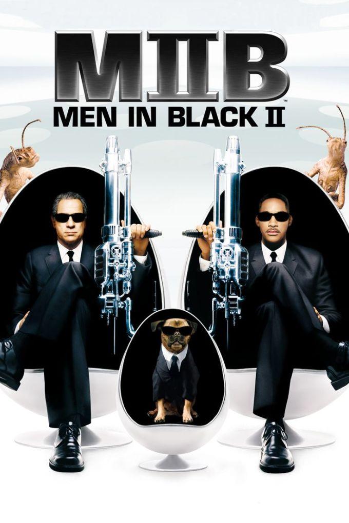マーベル映画『メン・イン・ブラック2』の登場人物とポスター画像