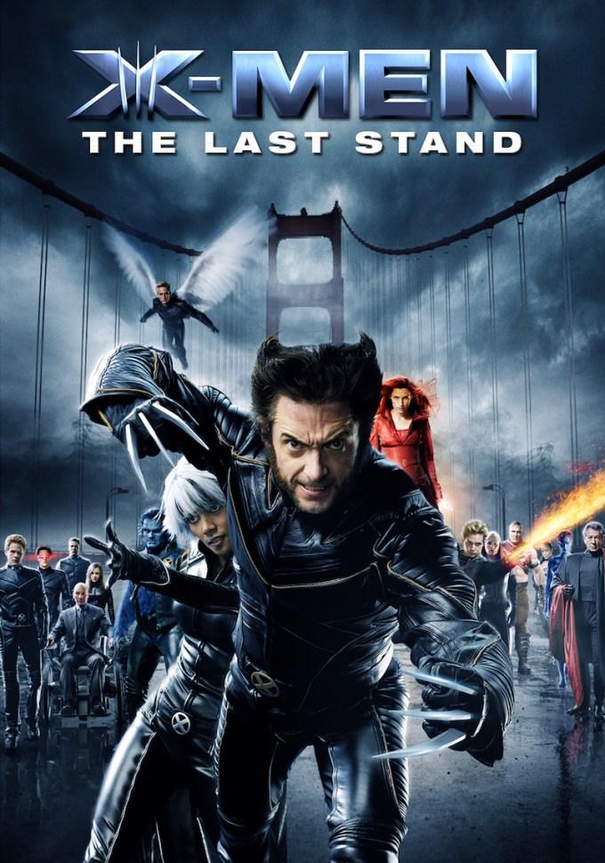 マーベル映画『X-MEN: ファイナル ディシジョン』の登場人物とポスター画像