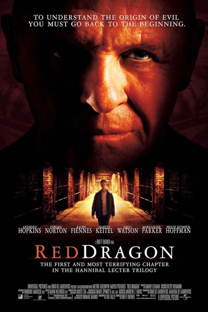 羊たちの沈黙・ハンニバルシリーズ3作目『レッド・ドラゴン』の登場人物と画像