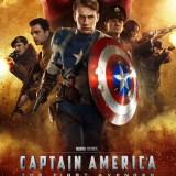 映画『キャプテン・アメリカ/ザ・ファースト・アベンジャー』のポスター画像