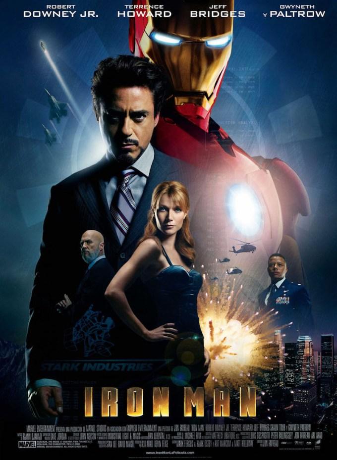 アベンジャーズシリーズ1作目映画『アイアンマン』の画像