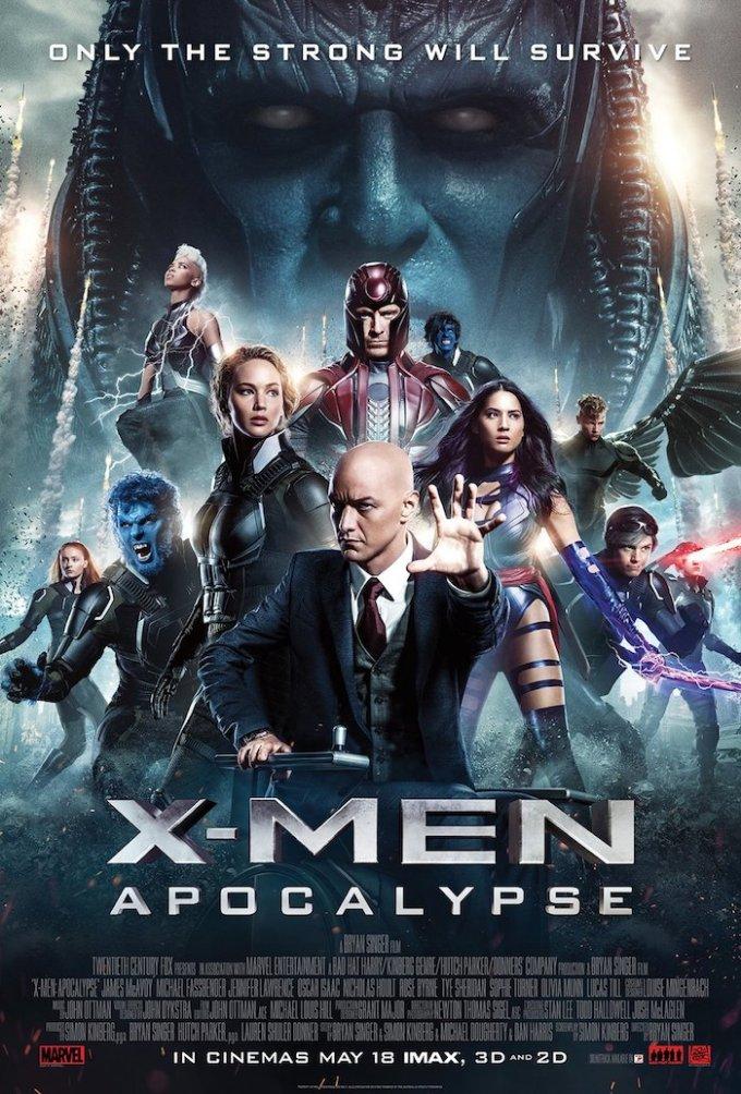 連休におすすめしたい映画「X-MEN映画シリーズ」の登場人物の画像