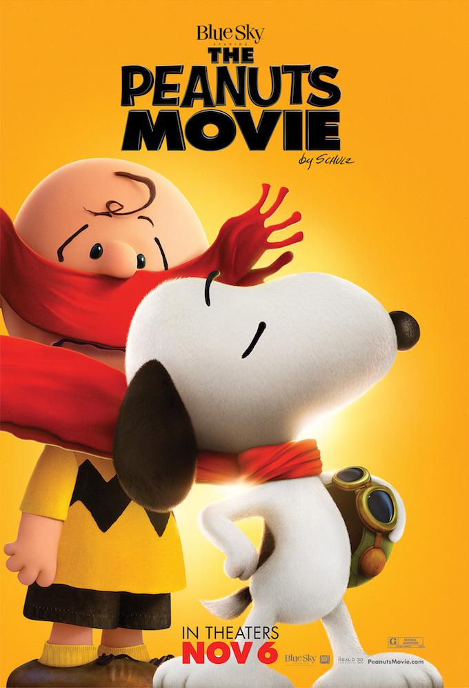 ブルースカイ・スタジオ映画『I LOVE スヌーピー THE PEANUTS MOVIE』の登場キャラクターの画像