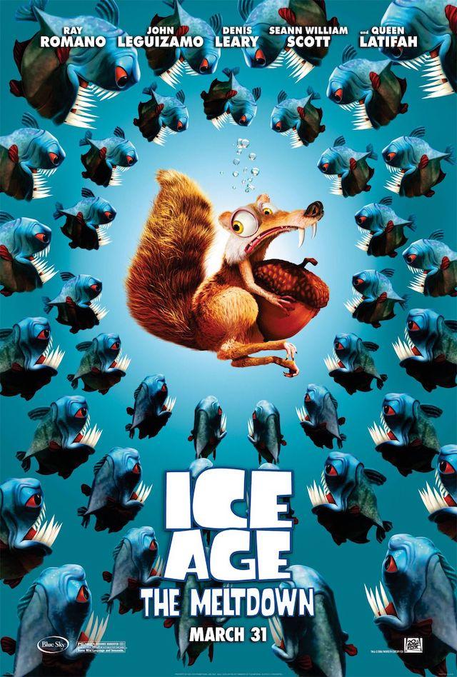 映画シリーズ2作目『アイス・エイジ2』の登場キャラクターと画像