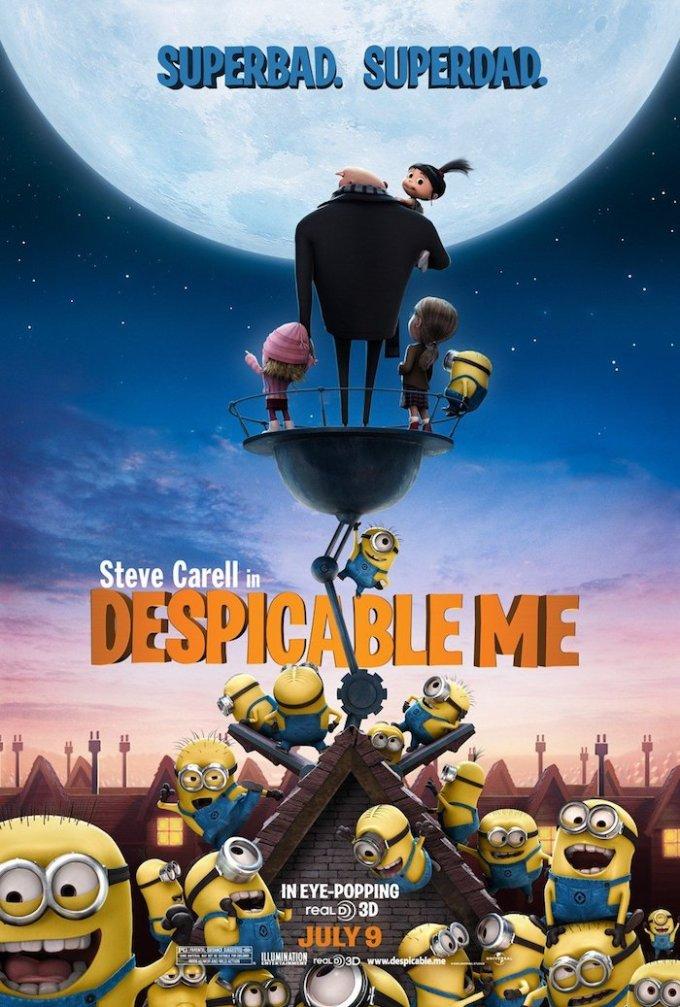 ミニオンズ映画シリーズ『怪盗グルーの月泥棒 3D』の登場人物と画像